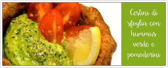 Cestini-di-sfoglia-con-hummus-verde-e-pomodorini