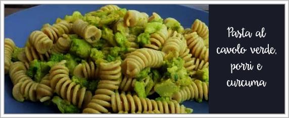 pasta-col-cavolo-verde con porri