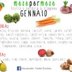 La stagionalità di frutta e verdura nel mese di GENNAIO!