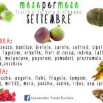 Frutta e verdura di stagione a settembre! Buon inizio mese!