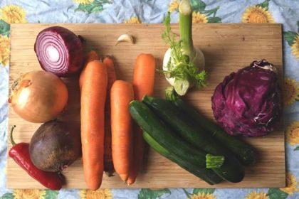 Minestrone di stagione con verdure Bio!