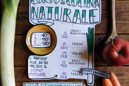 Corsi di cucina naturale da gennaio 2019 a Brescia con me e Betti Taglietti