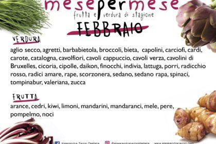 Stagionalità di frutta e verdura: FEBBRAIO