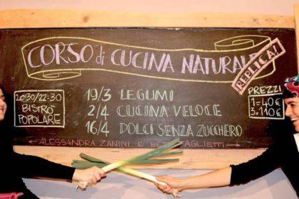 CORSI DI CUCINA NATURALE - LA REPLICA - MARZO/APRILE 2019