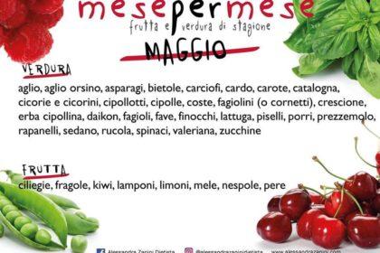 Stagionalità di frutta e verdura: MAGGIO