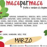Marzo: stagionalità di frutta e verdura