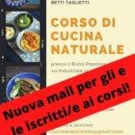 Aggiornamento corsi di cucina naturale