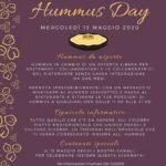 13 Maggio - Hummus day a Brescia con il ristorante palestinese I Nazareni