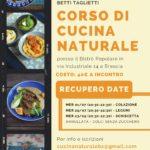 NUOVE DATE CORSI DI CUCINA NATURALE